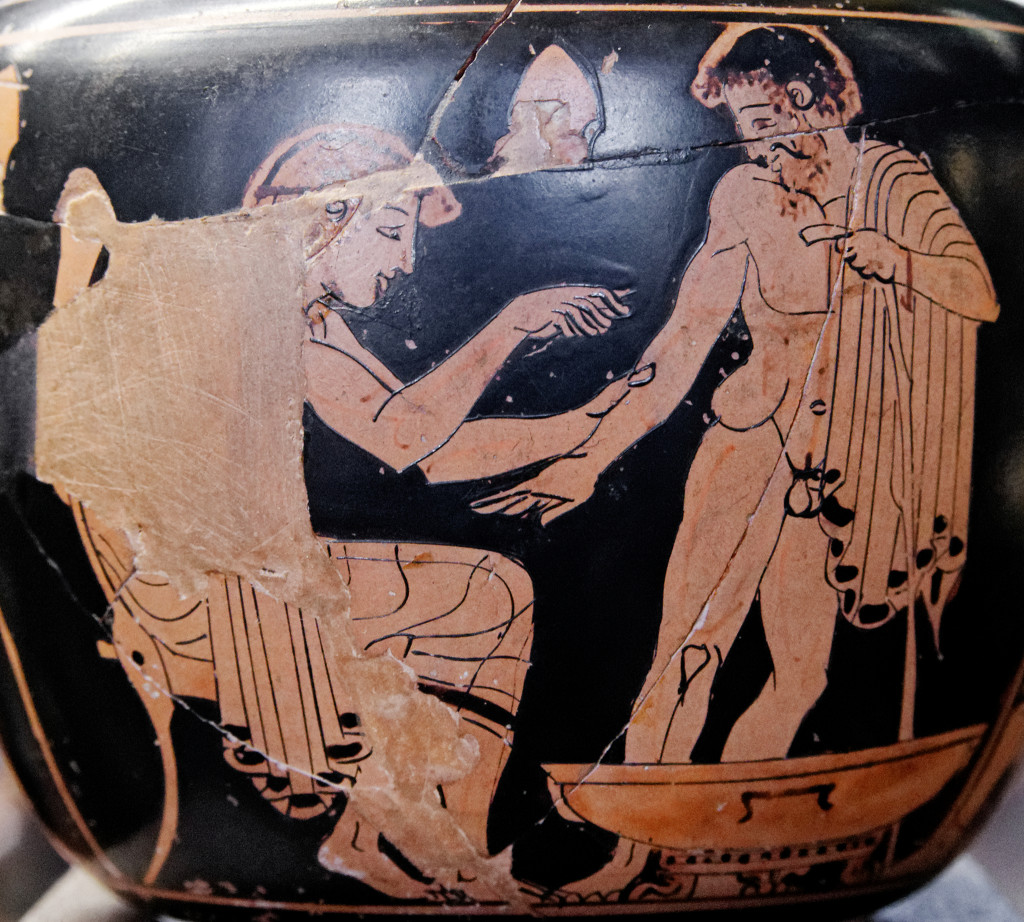 Greek physician cutting to the chase. (Image by Marie-Lan Nguyen)